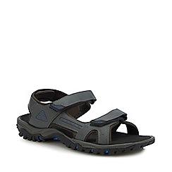 Mantaray - Grey 'Bismark 3' Sandals