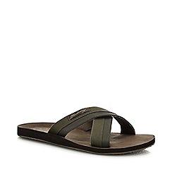 Mantaray - Khaki 'Costa' Sandals