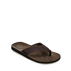 9275635e5385 Mantaray - Brown  Lanzarote  Flip Flops