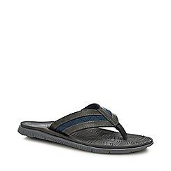 Mantaray - Grey 'Mykonos' Flip Flops
