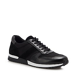 J by Jasper Conran - Black 'Naples' Trainers