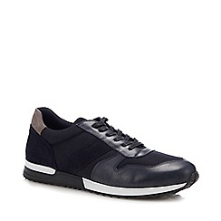 J by Jasper Conran - Navy 'Naples' Trainers
