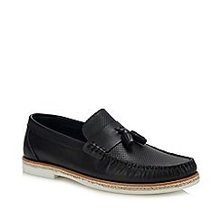 Hammond & Co. by Patrick Grant - Navy Leather 'Shere' Loafers