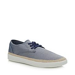 Red Herring - Blue Canvas 'Felix' Espadrille Shoes