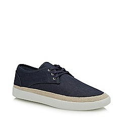 Red Herring - Navy Canvas 'Felix' Espadrille Shoes