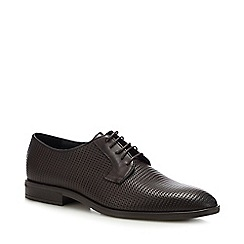 Hammond & Co. by Patrick Grant - Chocolate Brown Leather 'Fernham' Lace Up Shoes