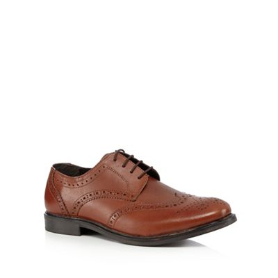 The Collection   Tan Leather Brogues by The Collection