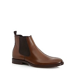 Hammond & Co. by Patrick Grant - Tan leather Chelsea boots