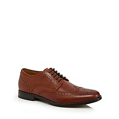 Henley Comfort - Tan leather 'Wallace' brogues