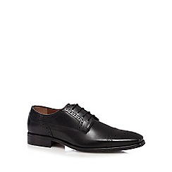 Jeff Banks - Black leather 'Airsoft' brogues