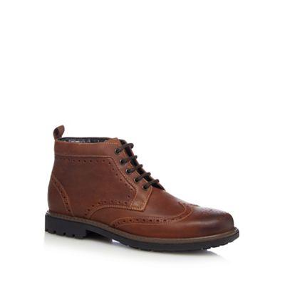 Maine New England Tan - Tan England leather brogues 45b1b5