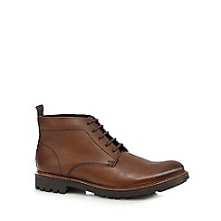 RJR.John Rocha - Brown leather Chukka boots