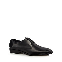 Hammond & Co. by Patrick Grant - Black leather 'Bowen' Derby shoes