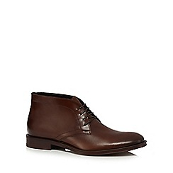 Hammond & Co. by Patrick Grant - Tan leather 'Goodge' chukka boots