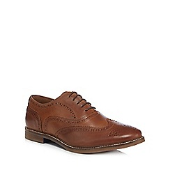Red Herring - Tan leather brogues 660040505076