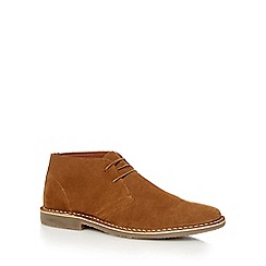 Red Herring - Tan suede 'Stevie' Desert boots