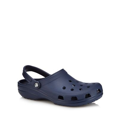 Crocs - Navy sandals Fashionable and eye-catching shoes