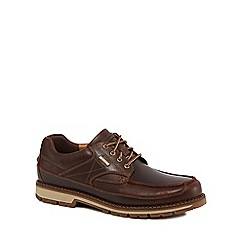 Rockport - Brown Leather 'Centry' waterproof lace up shoes
