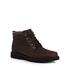 Rockport - Brown 'Northfield' chukka boots