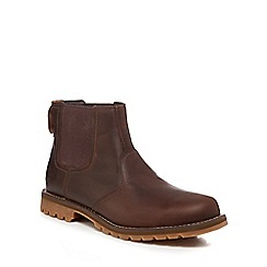 Timberland - Dark brown leather 'Larchmont' Chelsea boots