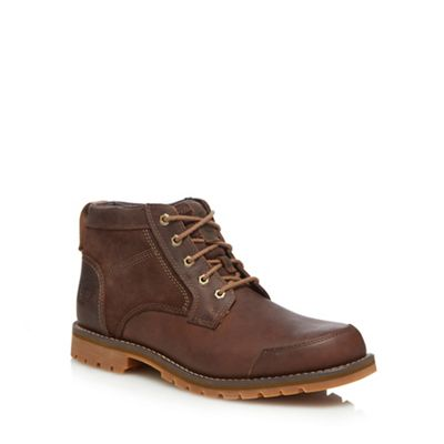 Timberland   Brown Leather 'larchmont' Chukka Boots by Timberland