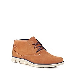 Timberland - Tan leather 'Bradstreet' Chukka boots