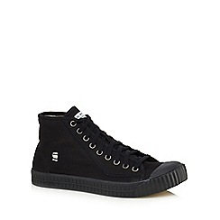 G-Star - Black 'Rovulc' high top trainers