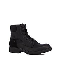 G-Star - Black 'Carbur' lace-up boots
