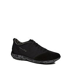 Geox - Black 'Nebula' slip-on trainers