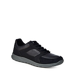 Geox - Navy 'Erast' lace up trainers