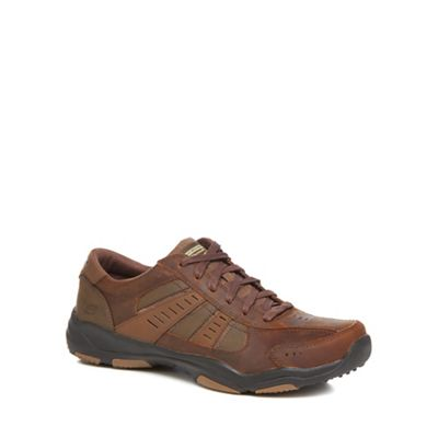 Skechers - Brown 'Larson' trainers Fashionable and eye-catching shoes