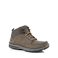 Skechers - Khaki 'Garton' walking boots
