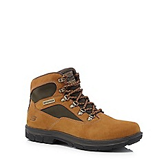 Skechers - Brown 'Segment Mixon' walking boots