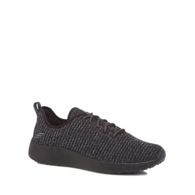 Skechers - Black 'Burst Donlen' lace up trainers