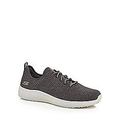 Skechers - Grey 'Burst Donlen' trainers