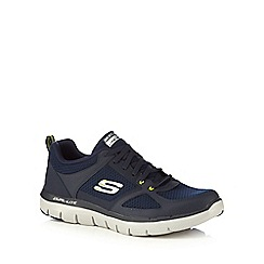 Skechers - Navy 'Flex Advantage 2.0' trainers