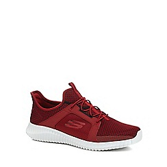 Skechers - Red 'Elite Flex' trainers