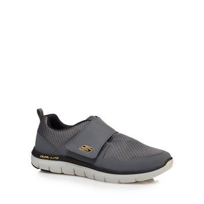 Skechers - Grey 'Flex Advantage 2.0' trainers