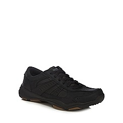Skechers - Black 'Larson Nerick' wide fit trainers
