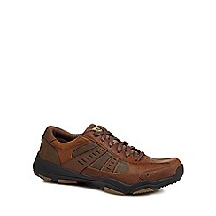 Skechers - Brown 'Larson Nerick' trainers
