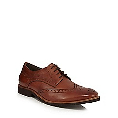 Lotus Since 1759 - Brown leather 'Newing' Derby brogues
