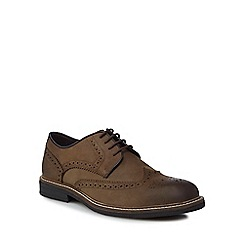 Lotus Since 1759 - Khaki leather 'Danesfield' brogues