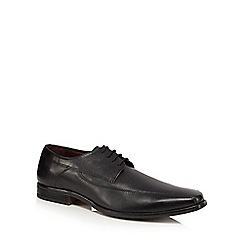 Lotus Since 1759 - Black leather 'Holgate' Derby shoes