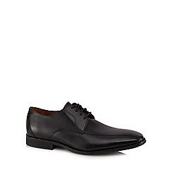 Clarks - Black leather 'Gilman Mode' Derby shoes