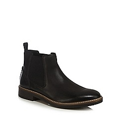 Clarks - Black leather 'Blackford' Chelsea boots