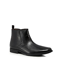 Clarks - Black leather 'Tilden' boots