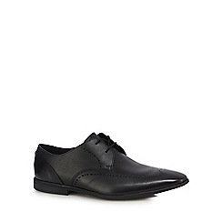 Clarks - Black leather 'Bampton Limit' derby shoes