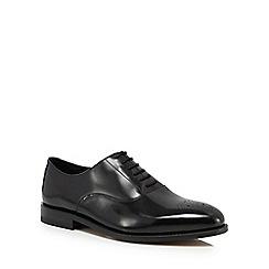Clarks - Black leather 'Ellis Vincent' Oxford shoes