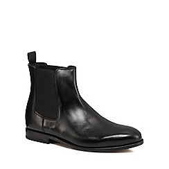 Clarks - Black leather 'Ellis Franklin' Chelsea boots