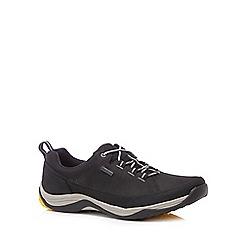 Clarks - Black 'Baystone Run Gorete' trainers